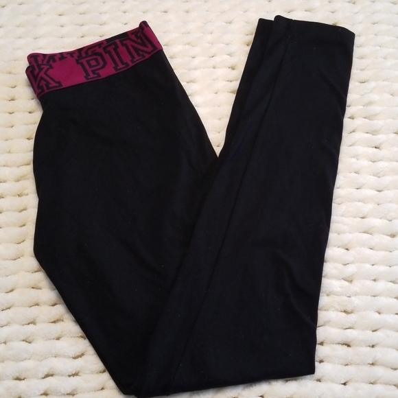 PINK Victoria's Secret Pants - Pink yoga pants Victoria's Secret skinny sz S